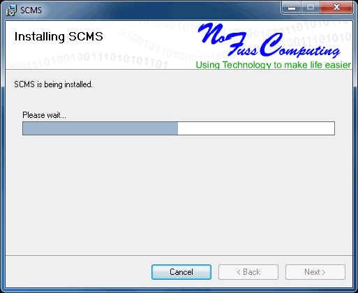 no fuss computing Installer Example
